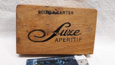 Stará krabička na karty Botie a Cartes suze Aperitiv (97)