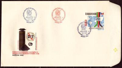 POF. COB 75 - OBÁLKA KONFERENCE ITU 1982, RAZÍTKA (T7306)