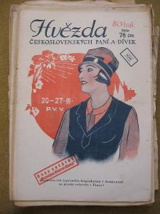HVĚZDA československých paní a dívek rok 1926    čísla 68 - 122