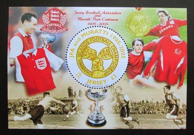 Jersey, Velká Británie 2005 Fotbalový svaz Mi# Block 49 1385