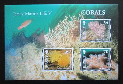 Jersey, Velká Británie 2004 Korály Mi# Block 46 1386