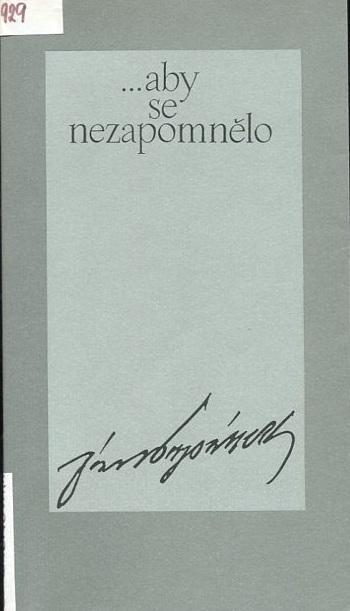 Vzpomínky a dokumenty: o životě, práci a zápasech Dr. Jána Papánka