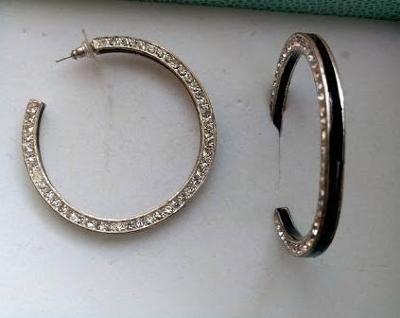 Výrazné Náušnice Kruhy