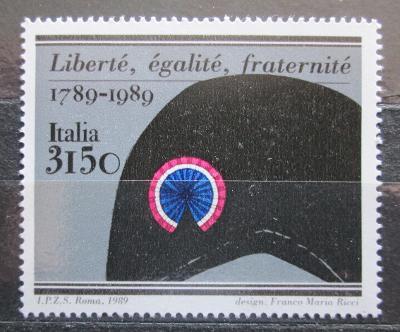 Itálie 1989 Francouzská revoluce, 200. výročí Mi# 2092 Kat 5€ 1380