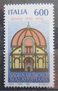 Itálie 1990 Hudební festival  Malatestiana, 40. výročí Mi# 2156 1387