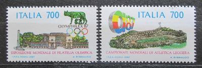 Itálie 1987 MS v atletice, Olymphilex Mi# 2019-20 1388