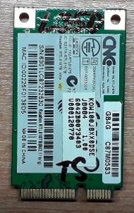 Wifi karta Toshiba Satellite L350 - Záruka - Doklad