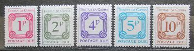 Tristan da Cunha 1976 Doplatní Mi# 6-10 1372