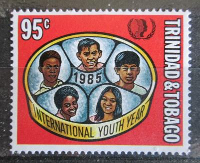 Trinidad a Tobago 1985 Mezinárodní rok mládeže Mi# 526 Kat 3.50€ 1387