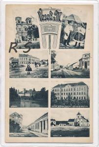 Veselí nad Moravou 1911 - Hodonín  , /ZX/