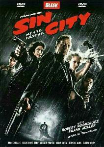 DVD Sin City - Město hříchu (papírový obal)
