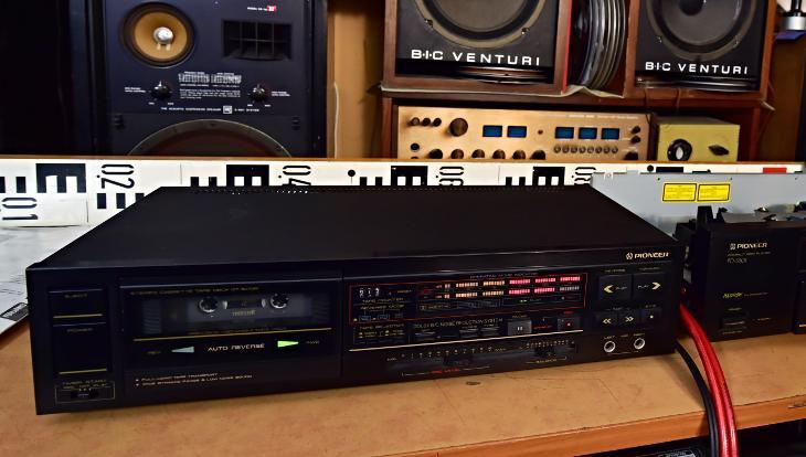 PIONEER CT-1070R kazetový magnetofon Japonsko (177109) - TV, audio, video