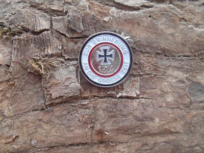 Repro Odznak 1914 ZUR ERINNERUNG AN DIE GROSSE ZEIT