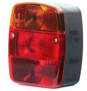 Univerzální zadní světlo např. pro přívěsný vozík ..
