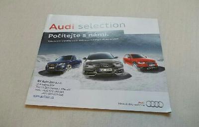 AUDI selection - český prospekt – průřez nabídkou  .#