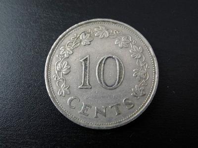 10 cents 1972, Malta.