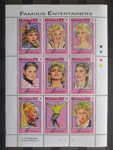 Gambie 1993 Madona Mi# 1626-34 Kat 15€ 1410