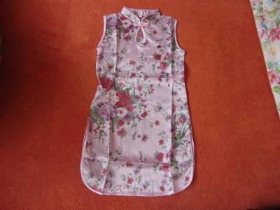 Nové růžové šaty, vel.104