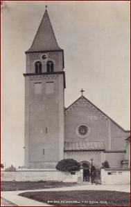 Bad Reichenhall * Kirche St. Zeno kostel hory Alpy * Německo * Z1446
