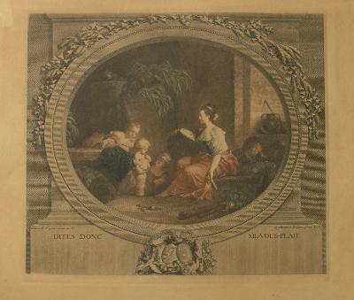 Lept - Franc. Rokoko - Fragonard – (D721)
