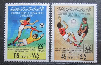 Libye 1979 Univerziáda Mi# 752-53 1420