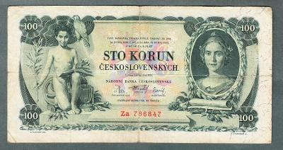 100 korun 1931 serie ZA !! NEPERFOROVANA