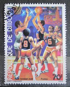 Džibutsko 1979 LOH Moskva, basketbal Mi# 259 1411
