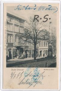 Česká Třebová 1899 - Ústí nad Orlicí ,  /ZX/