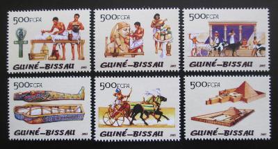 Guinea-Bissau 2005 Starověký Egypt Mi# 3114-19 Kat 12€ 1435