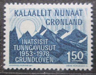 Grónsko 1978 Zapadající Slunce Mi# 109 1436