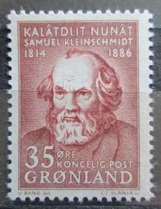 Grónsko 1964 Samuel Kleinschmidt Mi# 64 1432