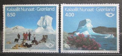 Grónsko 1991 Turistické zajímavosti, NORDEN Mi# 217-18 1437