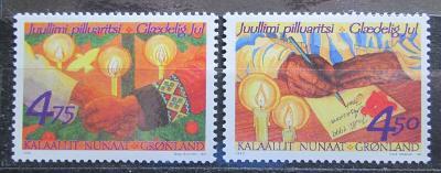 Grónsko 1999 Vánoce Mi# 344-45 1437