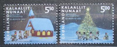 Grónsko 2003 Vánoce Mi# 403-04 1437