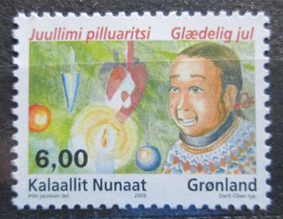 Grónsko 2005 Vánoce Mi# 451 1438