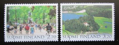 Finsko 1999 Evropa CEPT Mi# 1474-75 1439