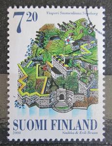 Finsko 2000 Ostrovní pevnost Suomenlinna, Helsinky Mi# 1517 1439