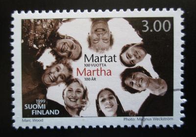 Finsko 1999 Spolek Martha, 100. výročí Mi# 1473 1443