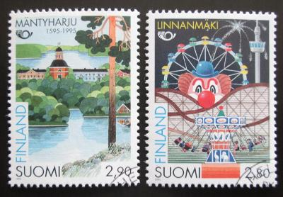 Finsko 1995 Turistika, NORDEN Mi# 1302-03 1446