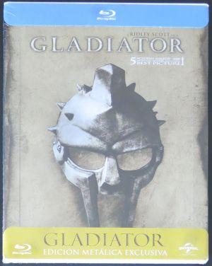 GLADIÁTOR Blu-Ray - STEELBOOK (ČESKÝ DABING I TITULKY)