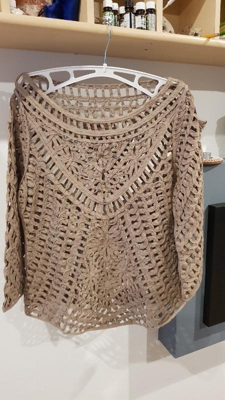 Transparentní Triko Velikost S M - Dámské oblečení
