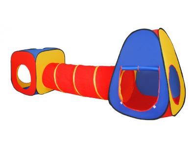 Zahradní stan tunel domek pro děti 3v1 EXTRA