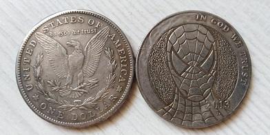 USA 1 dollar 2013 SPIDERMAN tulácký *137c