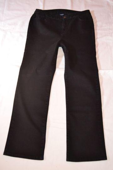 Pěkné černé kalhoty Esmara, vel. 46/48