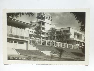 Sliač, Zvolen - ŠTÁTNE KUPELE 1938 - SLOVENSKO