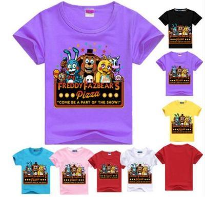 Five Nights At Freddy's - dětské tričko Pizza FNAF, různé velikosti