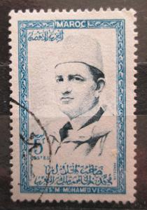 Maroko 1956 Sultan Mohammed V Mi# 408 1456