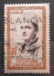 Maroko 1956 Sultan Mohammed V Mi# 409 1456