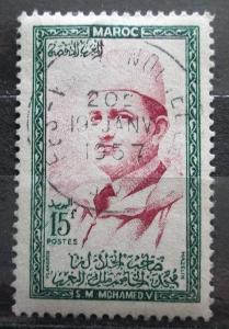 Maroko 1956 Sultan Mohammed V Mi# 410 1456