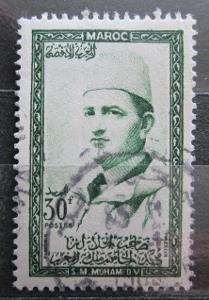 Maroko 1956 Sultan Mohammed V Mi# 412 1456